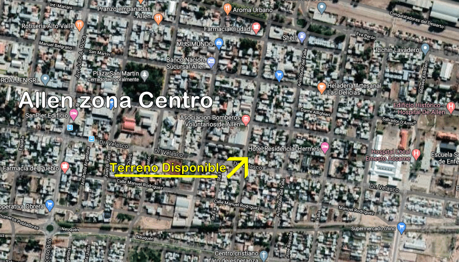 TERRENO – ALLEN – RIO NEGRO